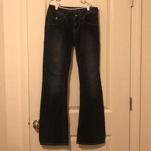 INC Regular Fit Bootcut Jeans